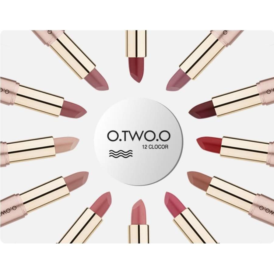 Matte Lipstick Pen & Liquid Suede Lipstick 2 in 1 - Color 0.9 Outlaw-7