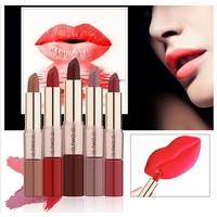 thumb-Matte Lipstick Pen & Liquid Suede Lipstick 2 in 1 - Color 1.0 Vampira-5