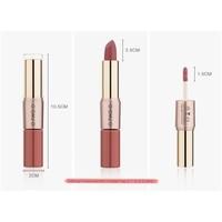 thumb-Matte Lipstick Pen & Liquid Suede Lipstick 2 in 1 - Color 1.0 Vampira-6