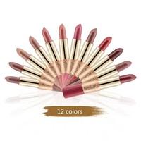 thumb-Matte Lipstick Pen & Liquid Suede Lipstick 2 in 1 - Color 1.0 Vampira-8