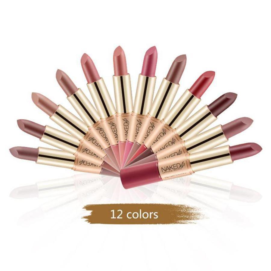 Matte Lipstick Pen & Liquid Suede Lipstick 2 in 1 - Color 1.0 Vampira-8