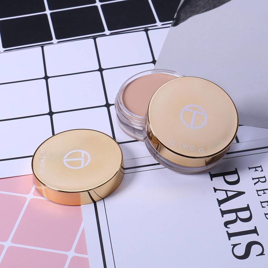 Full Coverage Concealer Jar - Color 2.0 Ivory White-5