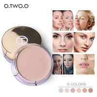 thumb-Full Coverage Concealer Jar - Color 2.0 Ivory White-6