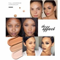 thumb-Full Coverage Concealer Jar - Color 2.0 Ivory White-3