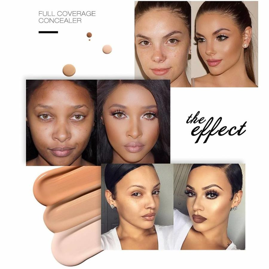Full Coverage Concealer Jar - Color 5.0 Warm Beige-3