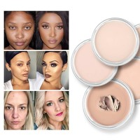 thumb-Full Coverage Concealer Jar - Color 5.0 Warm Beige-4