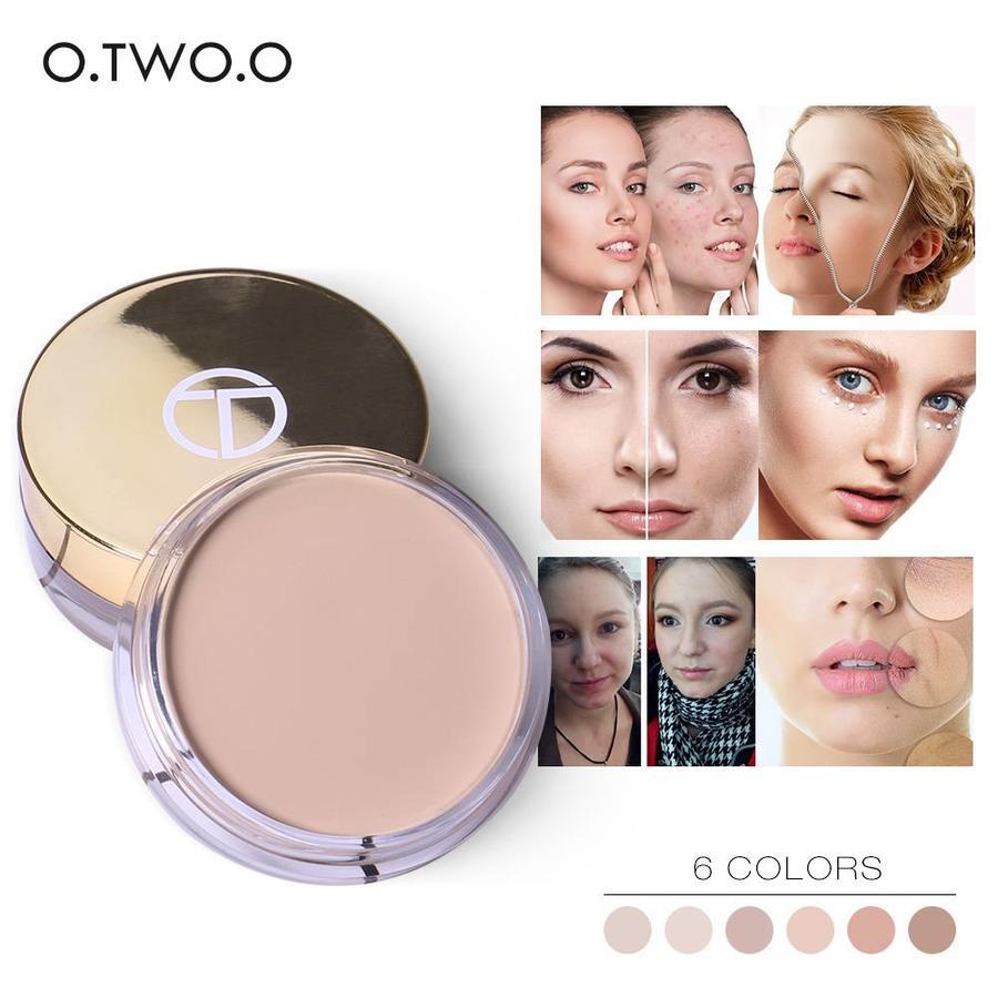 Full Coverage Concealer Jar - Color 6.0 Dark Skin-6