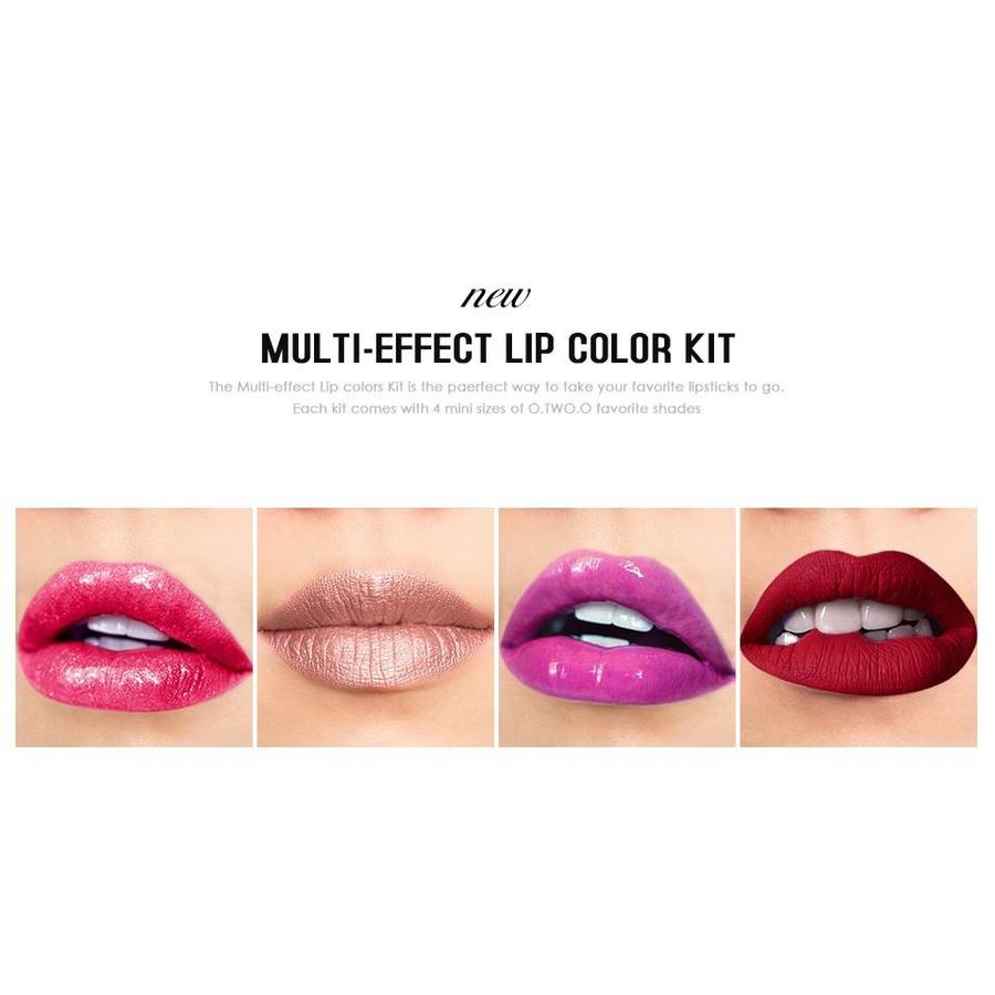 Multi-Effect Lipstick Color Kit - Favorite C-9