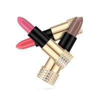 thumb-Luxery Classics Soft Matte Lipstick - Color 3107A Agatha-5