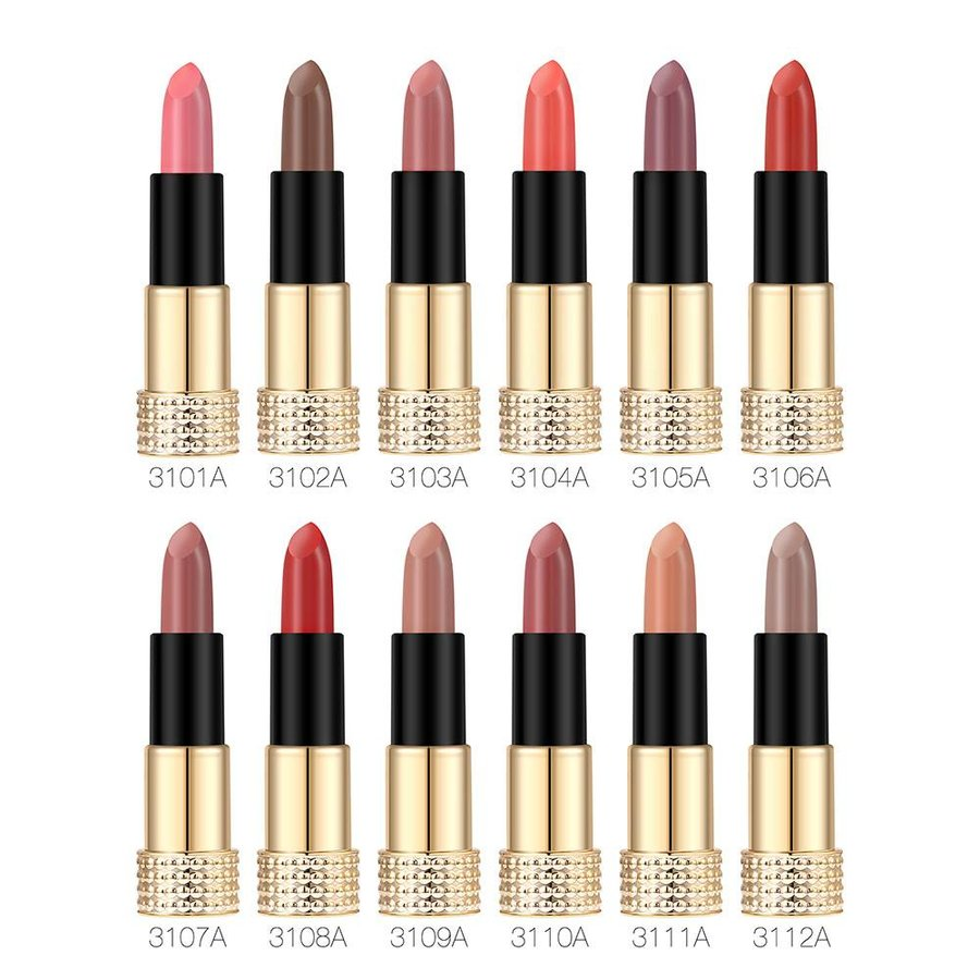 Luxery Classics Soft Matte Lipstick - Color 3111A Noble-2