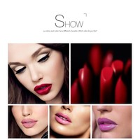 thumb-Luxery Classics Soft Matte Lipstick - Color 3111A Noble-4