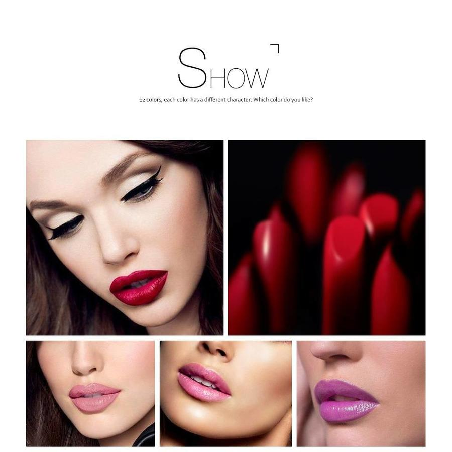Luxery Classics Soft Matte Lipstick - Color 3112A Lolita-4