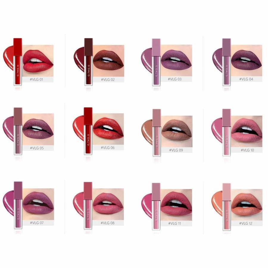 O.Two.O - Soft Matte Liquid Lipstick - Color VGL02-4