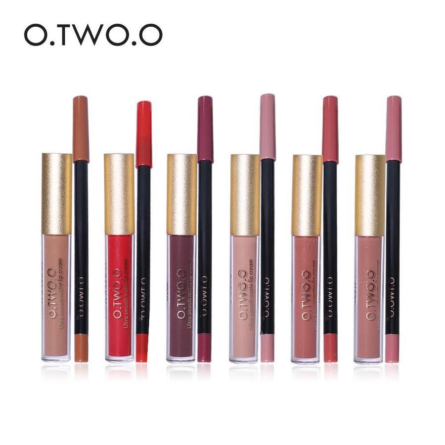 Matte Lipgloss Kit Met Lipliner - Color 3.0 Exorcism-4