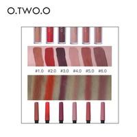 thumb-Matte Lipgloss Kit Met Lipliner - Color 4.0 Red Brown-2