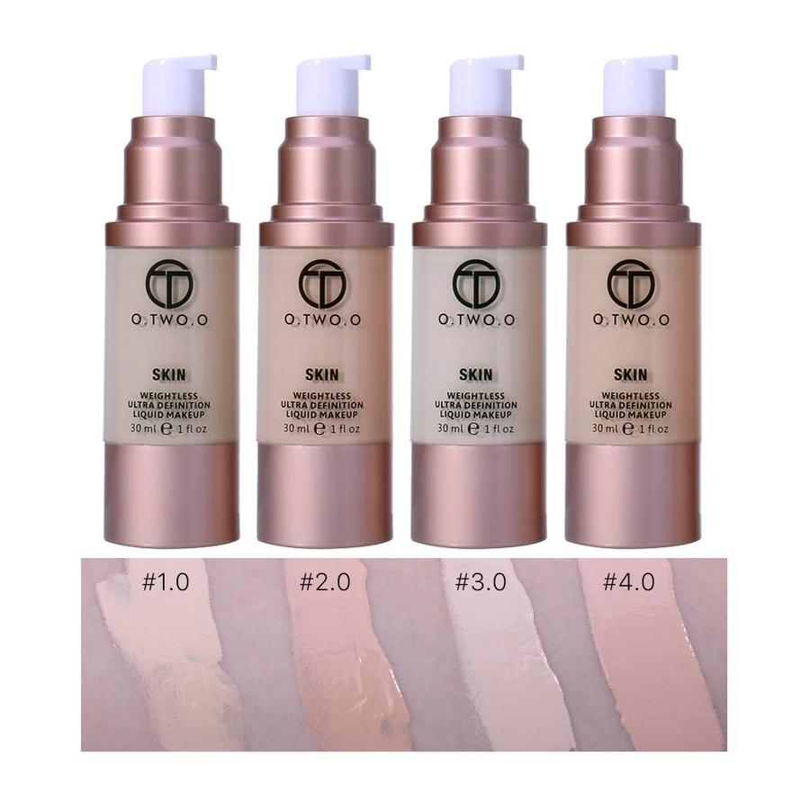O.Two.O - Flawless Smooth Foundation - Color 3.0 Daylight-2