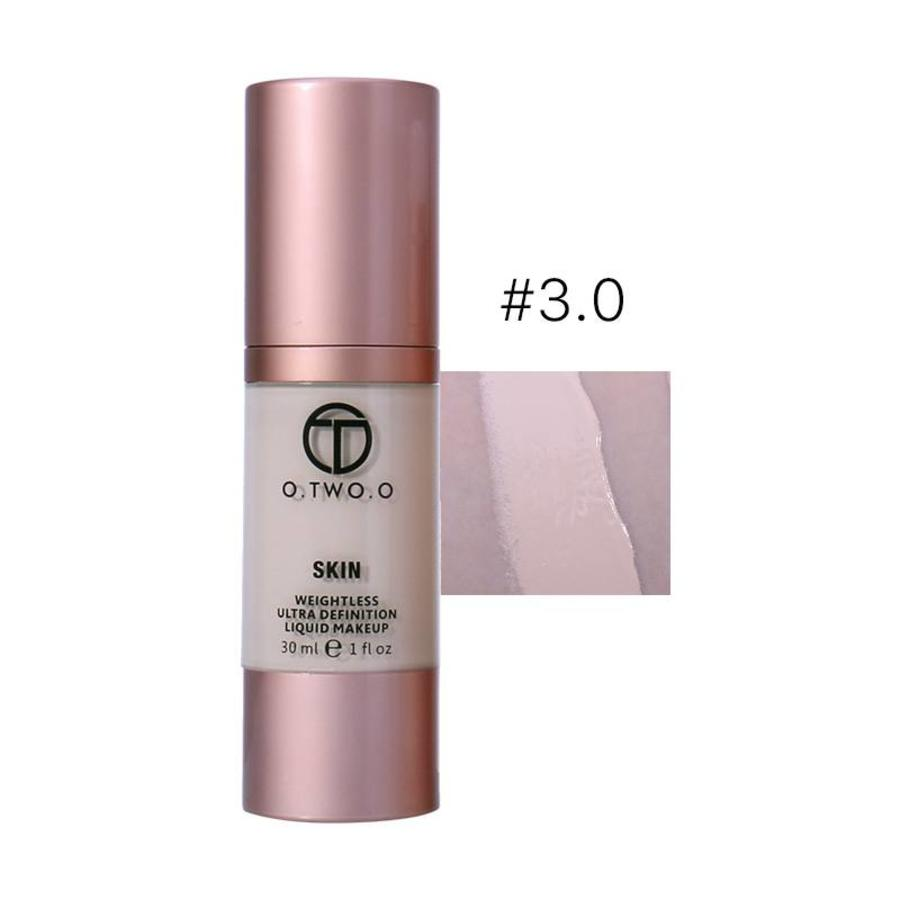 O.Two.O - Flawless Smooth Foundation - Color 3.0 Daylight-1