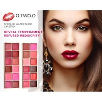 thumb-Watershine Lipstick Palette - 12 Colors #01-3