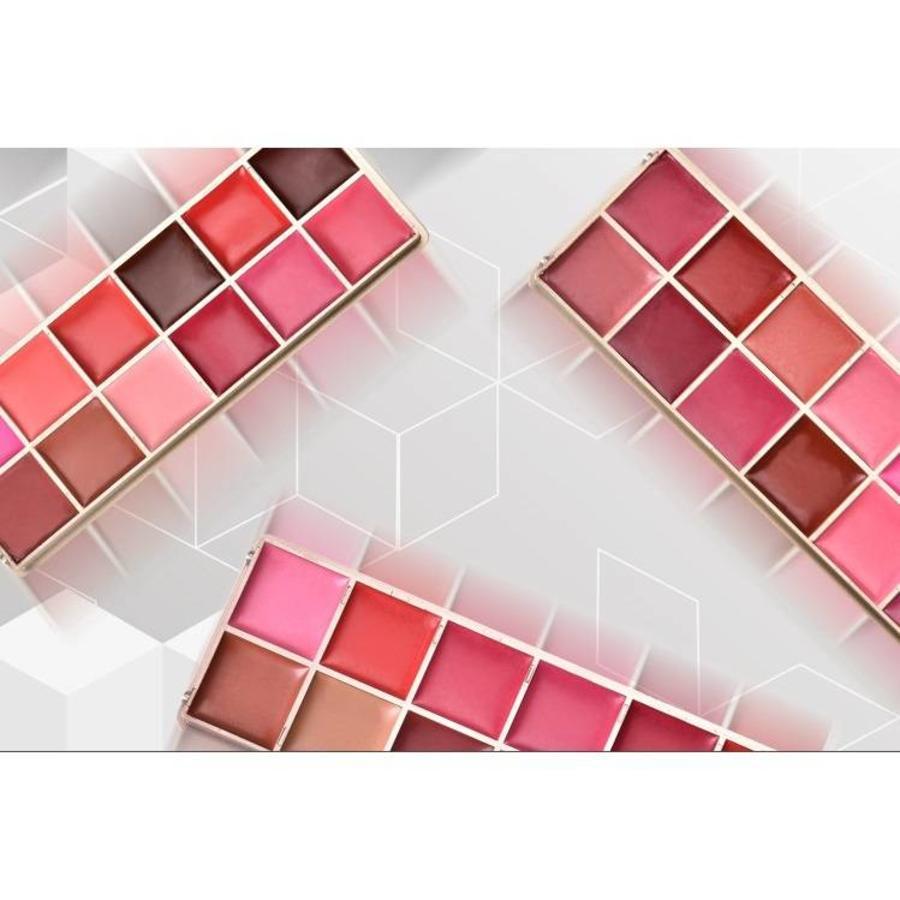 Watershine Lipstick Palette - 12 Colors #01-5
