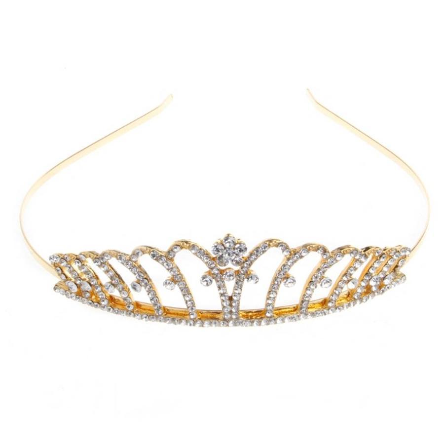 Goudkleurige Tiara / Kroon-1