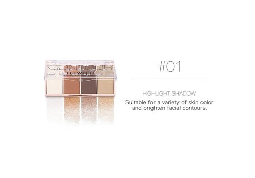 Grooming Powder Higlighter & Contouring - Color #01