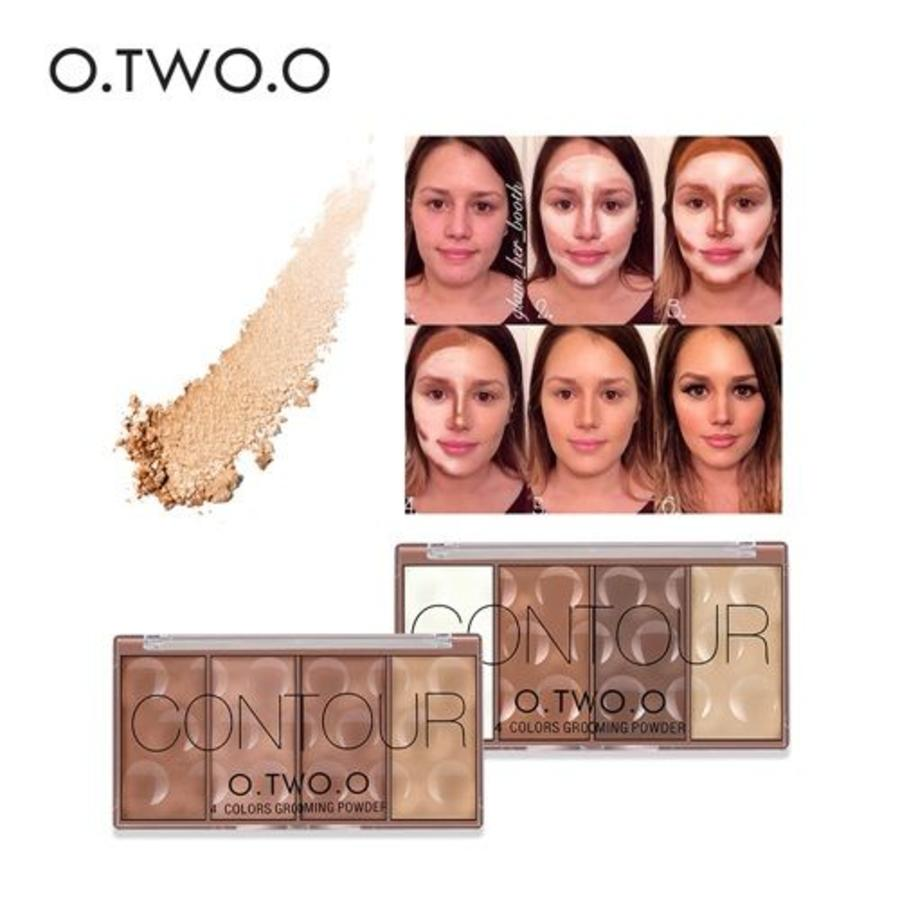 Grooming Powder Higlighter & Contouring - Color #01-7
