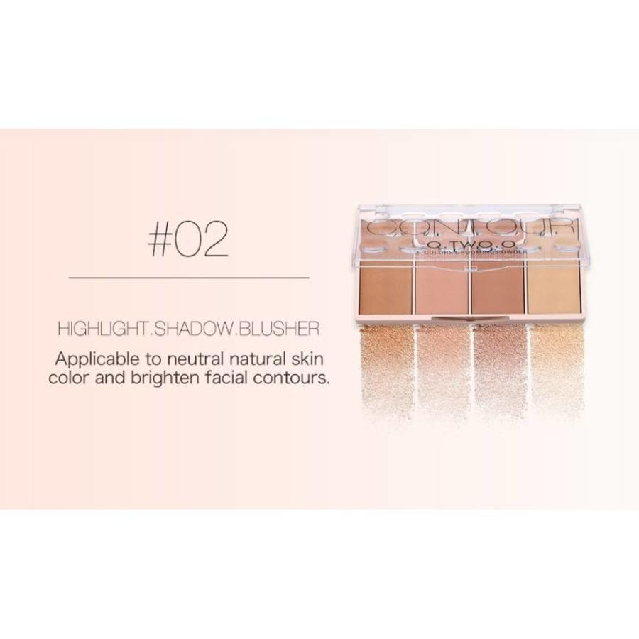 Grooming Powder Higlighter & Contouring - Color #02-1