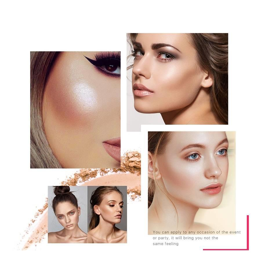 Contouring & Highlighter Pallette - Color 03-6