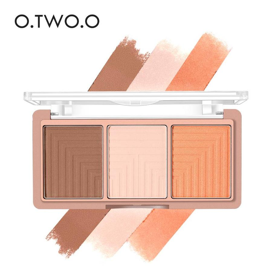 Contouring & Highlighter Pallette - Color 04-3