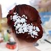 PaCaZa SALE - Hairpin - Elegance Flowers Strass & Pearls - 5 Stuks