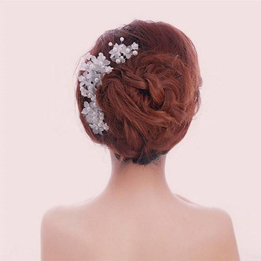 Hairpin - Eye Catcher Flowers & Pearls-2