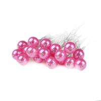 thumb-Hairpin - Parel met Diamantje Roze - 5 Stuks-1