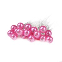 thumb-PaCaZa - Hairpin - Parel met Diamantje Roze - 5 Stuks-1