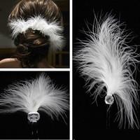 thumb-PaCaZa - Hairpin - Feather White - 2 Stuks-1