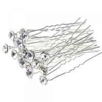 thumb-Hairpin - Strass Diamant - 5 stuks-2