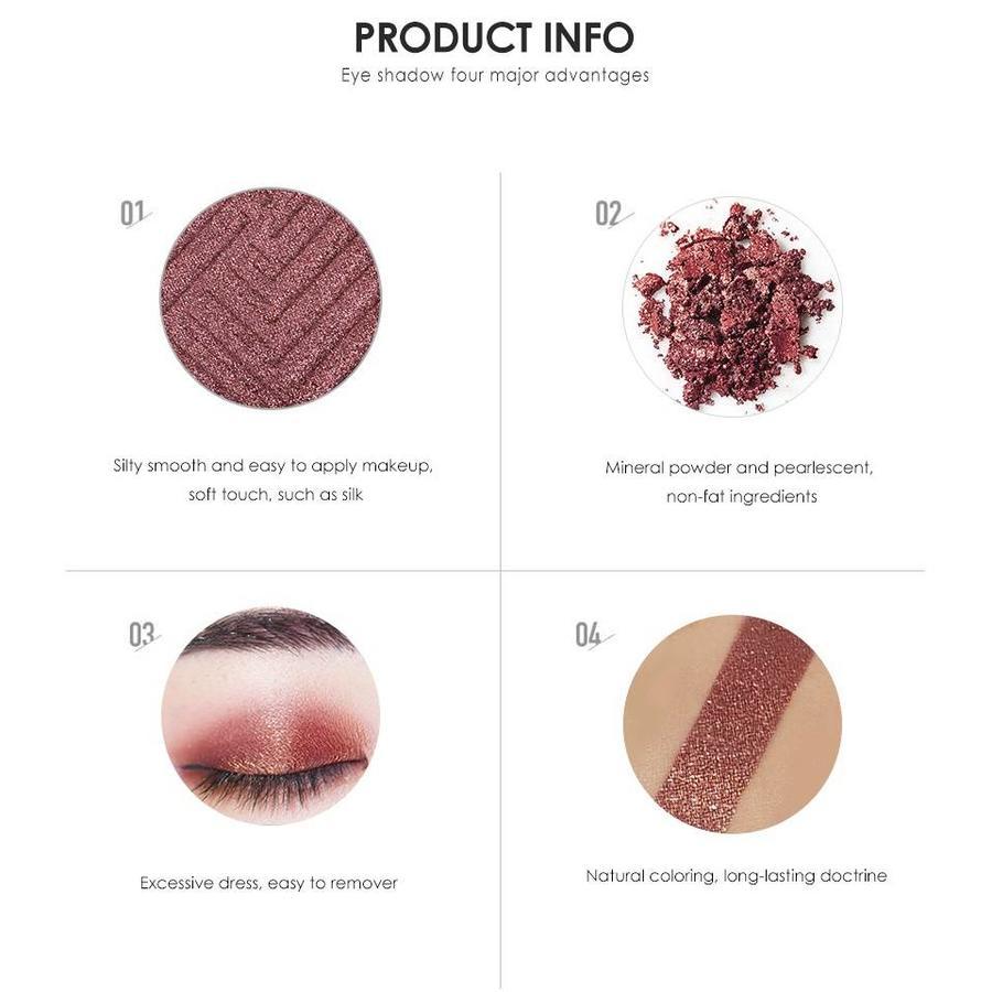 Palette Oogschaduw Make-Up Set - Color 02-9