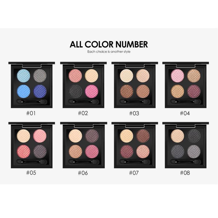 O.Two.O - Palette Oogschaduw Make-Up Set - Color 04-3