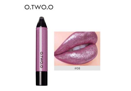 High Shimmer Liquid Lip Gloss- Color 08