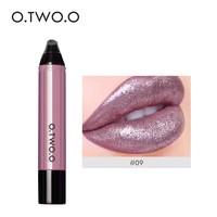 thumb-High Shimmer Liquid Lip Gloss- Color 09-1