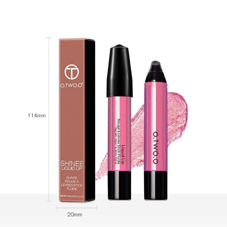 O.Two.O - High Shimmer Liquid Lip Gloss- Color 11-6