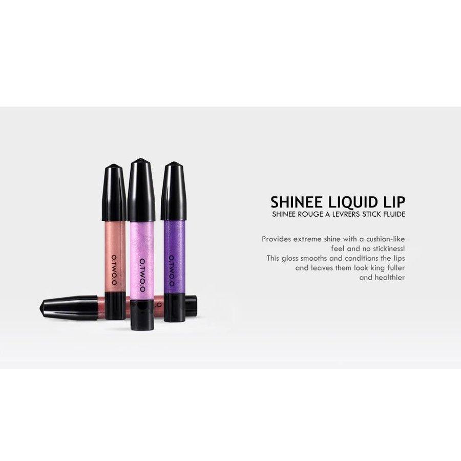 O.Two.O - High Shimmer Liquid Lip Gloss- Color 11-7