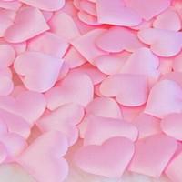 thumb-Hartjes - Licht Roze (ca. 100 stuks)-2