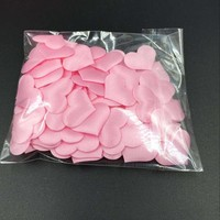 thumb-Hartjes - Licht Roze (ca. 100 stuks)-3