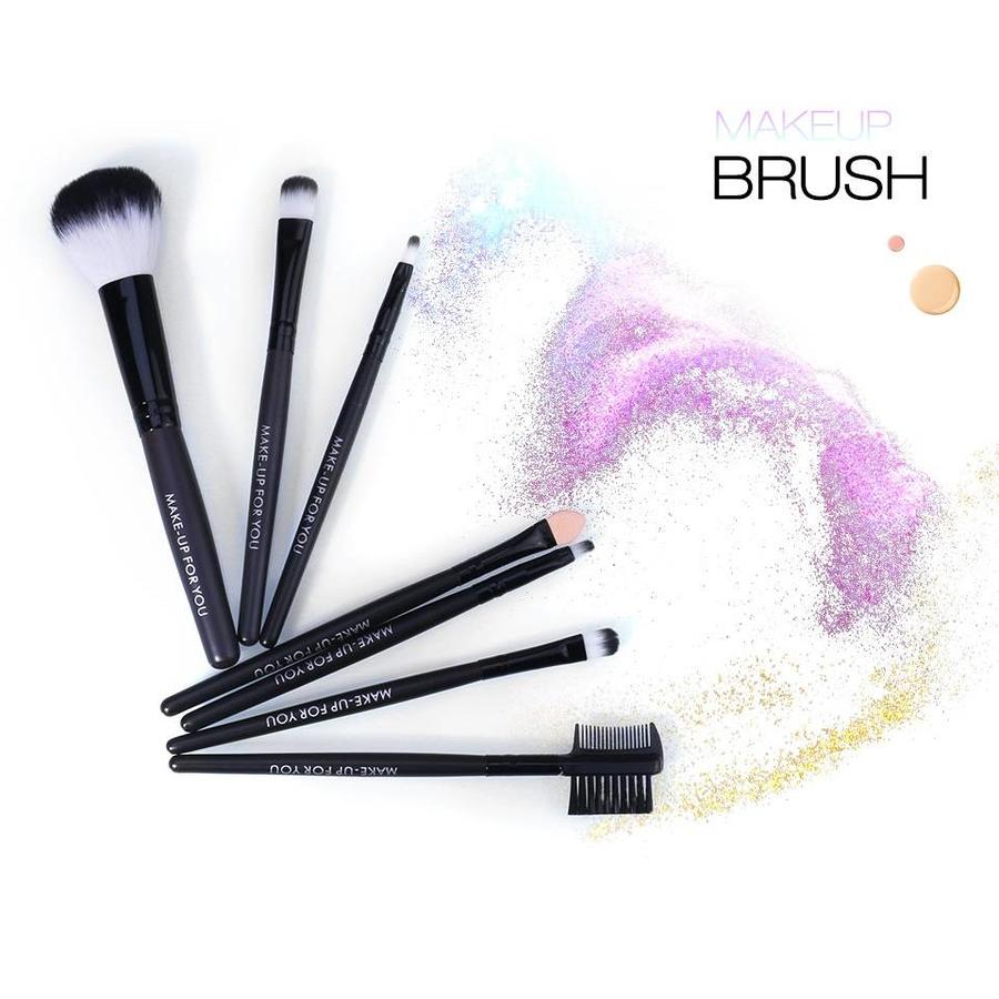 Make-up Brush Set Professional - 7 stuks -  Inclusief Tasje-2