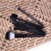 thumb-Make-up Brush Set Professional - 7 stuks -  Inclusief Tasje-5