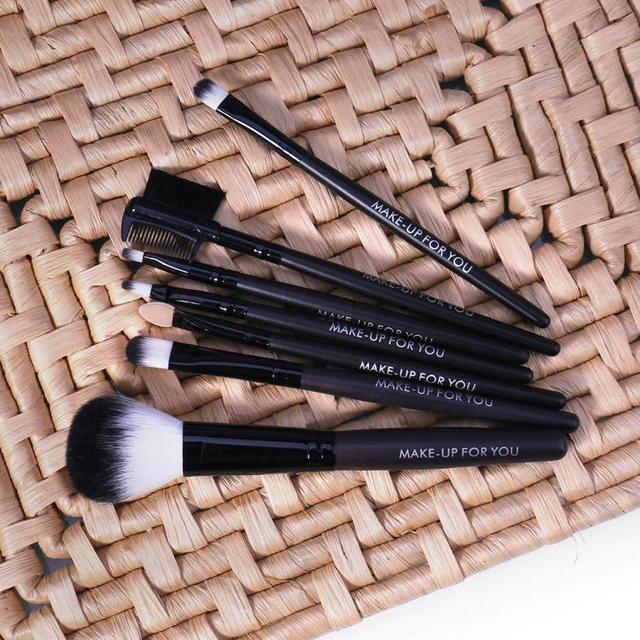 Make-up Brush Set Professional - 7 stuks -  Inclusief Tasje-5
