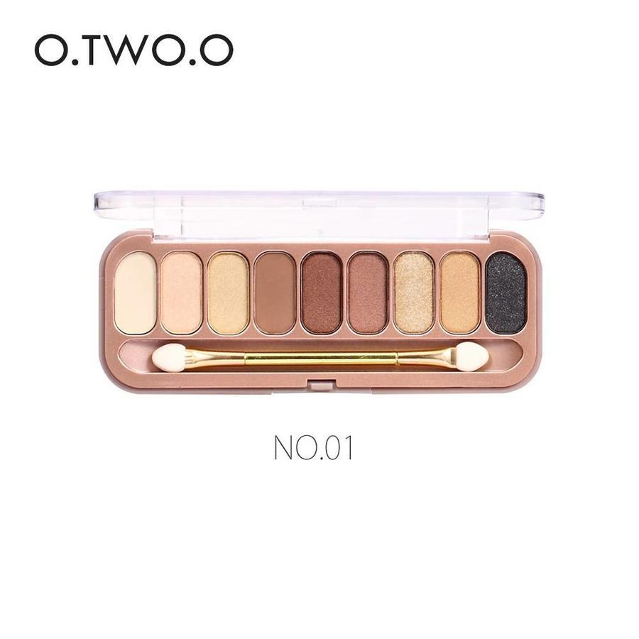 Palette Oogschaduw Make-Up Set 9 kleuren - Color 01-1