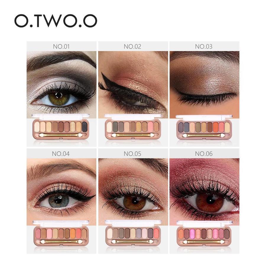 Palette Oogschaduw Make-Up Set 9 kleuren - Color 01-3