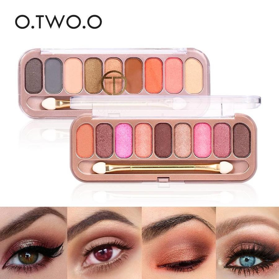 Palette Oogschaduw Make-Up Set 9 kleuren - Color 02-5