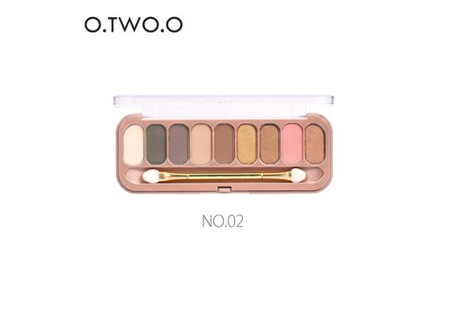 Palette Oogschaduw Make-Up Set 9 kleuren - Color 02